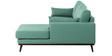 Magnus L Shape Sofa in Aqua Colour by Madesos