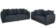 Marcelo (3 + 2) Seater Sofa Set in Graphite Grey Colour by CasaCraft