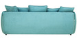 Marcelo Three Seater Sofa in Sapphire Blue Colour by CasaCraft