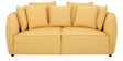 Marcelo Two Seater Sofa in Yellow Colour by CasaCraft