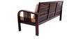 Mariana Teak Wood Sofa Set (1 + 1 + 3) Seater in Fresh Walnut Finish by Finesse