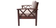 Mariana Teak Wood Two Seater Sofa in Natural Teak Finish by Finesse