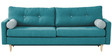 Martina Three Seater Sofa in Blue Colour by Madesos