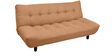 Max Three Seater Sofa Cum Bed in Tan Colour by @home