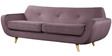 Maxwell Three Seater Sofa in Light Purple Colour by Madesos