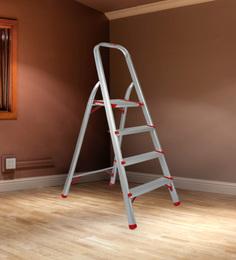 Magna Aluminium 4 Steps 4.9 FT Light Weight High Strength Ladder