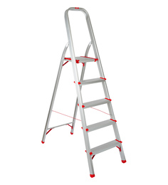Magna Aluminium 5 Steps 5.7 FT Light Weight High Strength Ladder