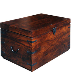 Maharani Trunk in Walnut Finish by Inliving