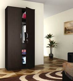 Majesto Two Door Wardrobe In Wenge Finish By  Exclusive Furniture