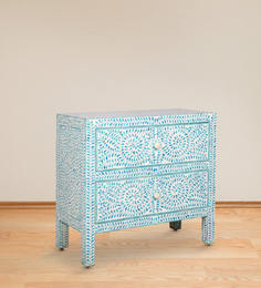 Malava Chest of Drawer with Camel Bone Inlay Work by Mudramark