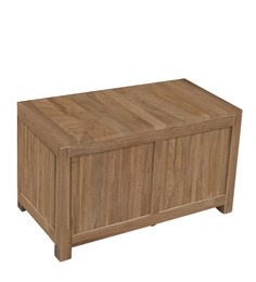 Marandoo Trunk Box in Provincial Teak Finish by Woodsworth