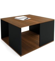 Marco Coffee Table In Classic Walnut Finish By UNiCOS