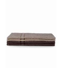 Mark Home Multicolour Cotton 24 X 16 Hand Towel - Set Of 4 - 1590649