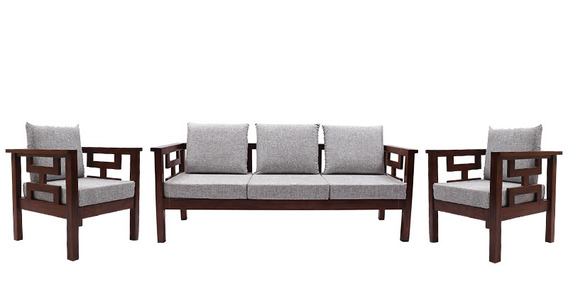 Buy Mariana Teak Wood Sofa Set 3 Seater 1 Seater 1  : mariana teak wood sofa set 3 seater 1 seater 1 seater by woodsworth mariana teak wood sofa set t5axgi from www.pepperfry.com size 568 x 284 jpeg 32kB