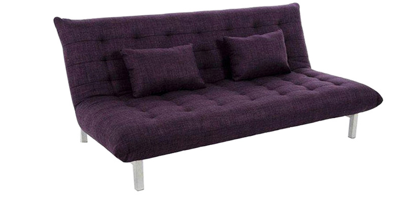 Madison queen size sofa bed in purple colour by furny by Queen size sofa bed