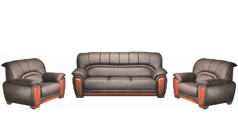 Manhattan sofa set in brown colour by godrej interio by godrej interio online sofa sets Godrej interio home furniture price list