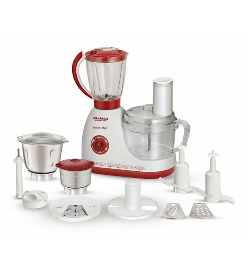 Maharaja Whiteline Smart Chef 100 Happiness 600 W Food Processor  available at Pepperfry for Rs.6699