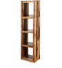Fairmont Solid Wood Book Shelf in Natural Sheesham Finish by Woodsworth