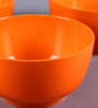 Machi Orange Melamine 700 ML Soup Bowl - Set of 3