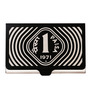 Mad(e) in India 1 Paisa Monochrome Stainless Steel Visiting Card Holder