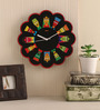Mad(e) In India Multicolor MDF 11 x 11 Inch Puppet Wall Clock