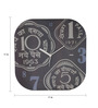 Mad(e) In India Multicolor MDF 11 x 11 Inch Old Coin Wall Clock