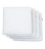 Magasin White Memory Foam 12 x 12 Pillow Insert - Set of 4