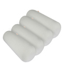 Magasin White Memory Foam 24 x 8 Inch Round Big Bolster Insert - Set of 4
