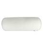 Magasin White Memory Foam 24 x 8 Inch Round Big Bolster Insert