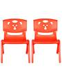 Magic Bear Chair Set of 2 Pieces in Red and Red Colour by Sunbaby