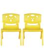 Magic Bear Chair Set of 2 Pieces in Yellow and Yellow Colour by Sunbaby