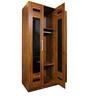 Magna Three Door Wardrobe in Teak Finish by Home City
