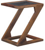 Mosby Sheesham Wood End Table Cum Coffee Table in Provincial Teak Finish by Woodsworth