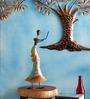 Adhip Dancing Doll Figurine in Multicolor by Mudramark