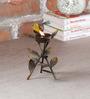 Malik Design Multicolour Metal Bird Small Tea Light