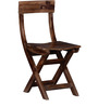 Fife Solid Wood Folding Chair in Provincial Teak Finish by Woodsworth