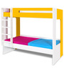 Manhattan Bunk Bed in Yellow & White Colour by Alex Daisy