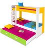 Manhattan Bunk Bed in Multicolor by Alex Daisy