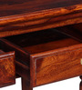 Barnsdale Study & Laptop Table in Honey Oak Finish by Amberville