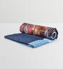 Mapa Home Care Blue Duppioni 5-piece Digital Quilt Set