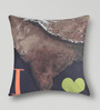 Mapa Home Care Multicolor Duppioni 16 x 16 Inch India Cushion Cover