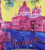 Mapa Home Care Multicolor Duppioni 16 x 16 Inch Venice Cushion Cover