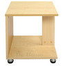 Maple End Table in Maple Matt Finish by Debono
