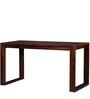 Asilo Study & Laptop Table in Honey Oak Finish by Woodsworth