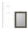 Marbella Minimalist Mirrors in Grey by CasaCraft