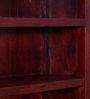Margaret Book Shelf cum Display Unit in Honey Oak Finish by Amberville