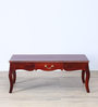Margaret Coffee Table in Honey Oak Finish by Amberville