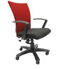 Marina Office Ergonomic Chair in Black Colour by Chromecraft