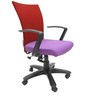 Marina Office Ergonomic Chair in Purple Colour by Chromecraft