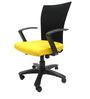 Marina Office Ergonomic Chair in Yellow Colour by Chromecraft